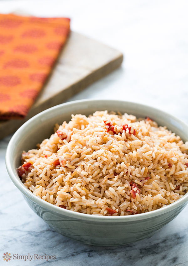 Spanish Rice - 30+ Remarkable Rice Recipes