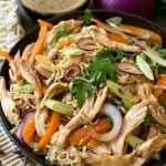 Asian Noodle Salad with Chicken