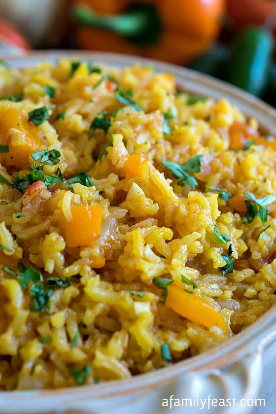 Spanish Rice - A Family Feast