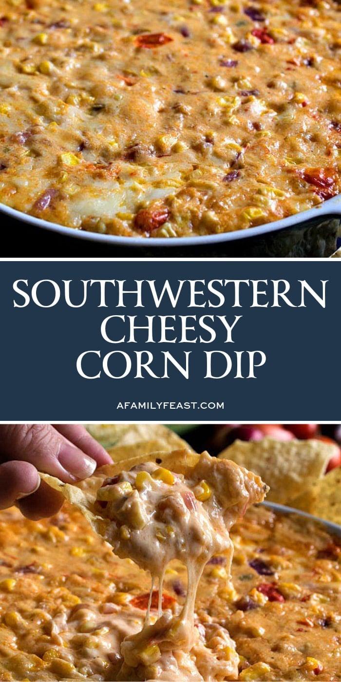 Southwestern Cheesy Corn Dip