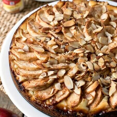 Fresh Apple Torte - A Family Feast