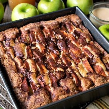 New England Apple Cider Cake - A Family Feast