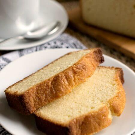 Condensed Milk Pound Cake - A Family Feast