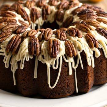 Spiced Rum Bundt Cake - A Family Feast