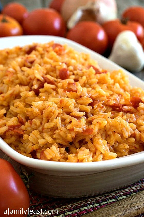 Portuguese tomato rice arroz de tomate a family feast portuguese tomato rice also known as arroz de tomate a simple and delicious rice forumfinder Images