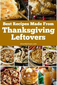 Best Recipes Made From Thanksgiving Leftovers