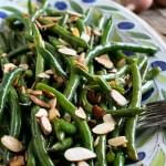 Green Beans Almondine - A Family Feast