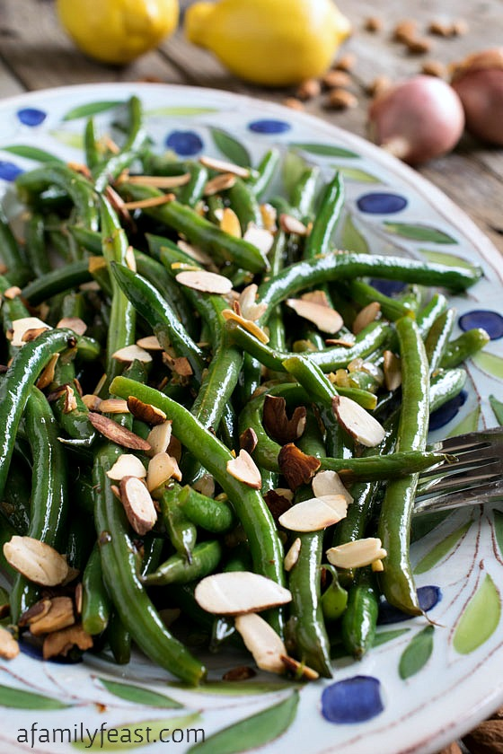 Our recipe for Green Beans Almondine would be the perfect addition to any special holiday meal!