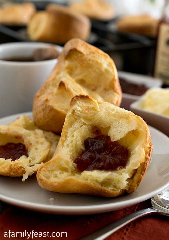 The classic Jordan Pond Popovers recipe from Jordan Pond House in Maine's Acadia National Park.