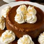 New England Pumpkin Caramel Pudding