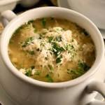 Turkey Stracciatella Soup