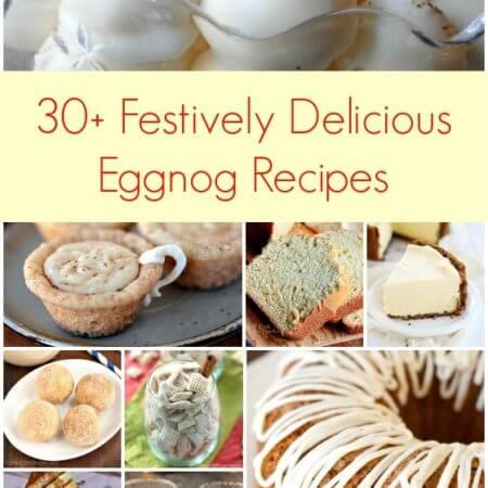 30+ Festively Delicious Eggnog Recipes - A Family Feast