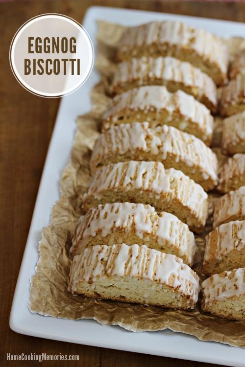 Eggnog Biscotti - 30+ Festively Delicious Eggnog Recipes