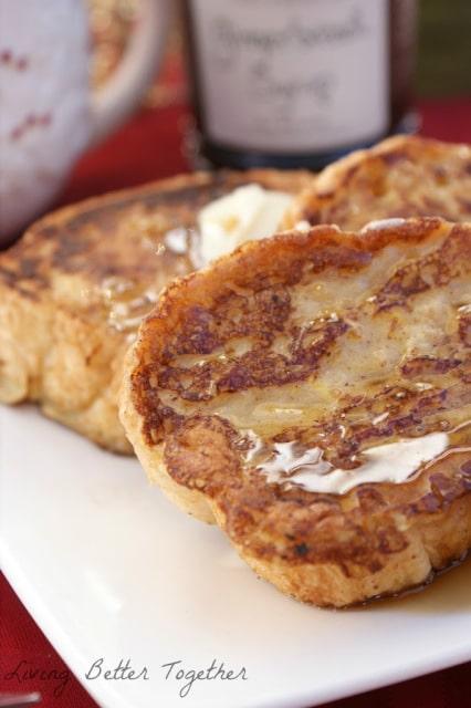 Eggnog French Toast - 30+ Festively Delicious Eggnog Recipes