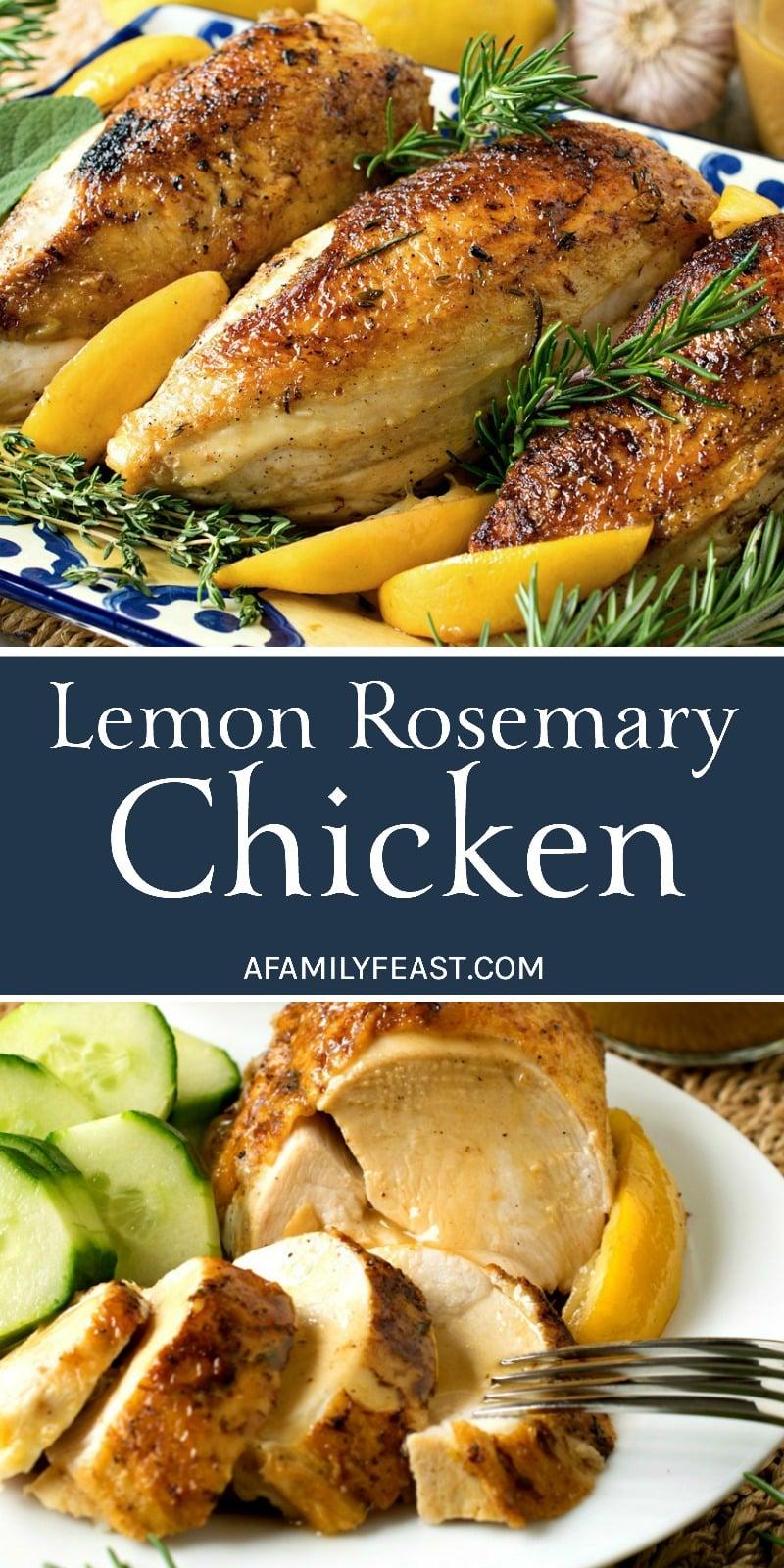 Lemon Rosemary Chicken