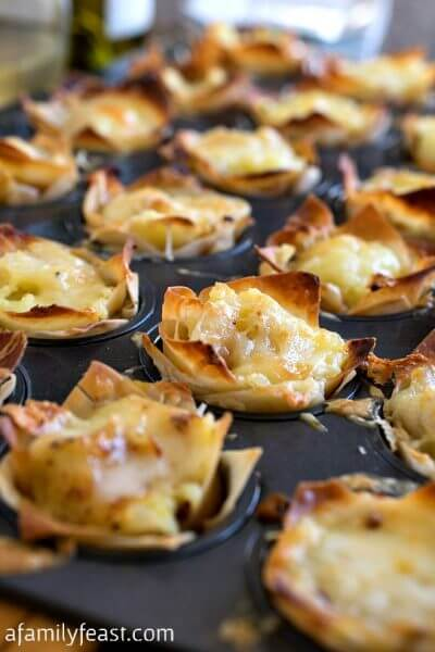Mini Shepherd's Pie Bites - A Family Feast
