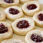 Pasta Frolla Christmas Jam Cookies