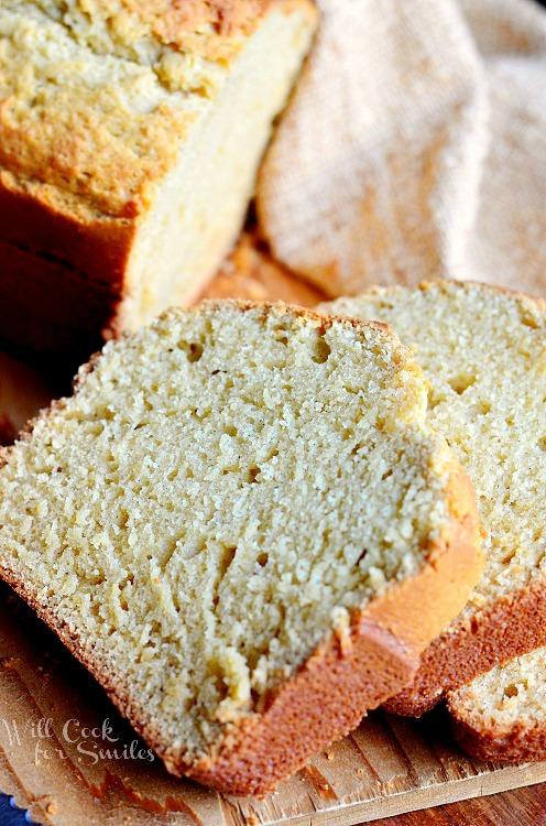 Vanilla Bean Eggnog Bread - 30+ Festively Delicious Eggnog Recipes