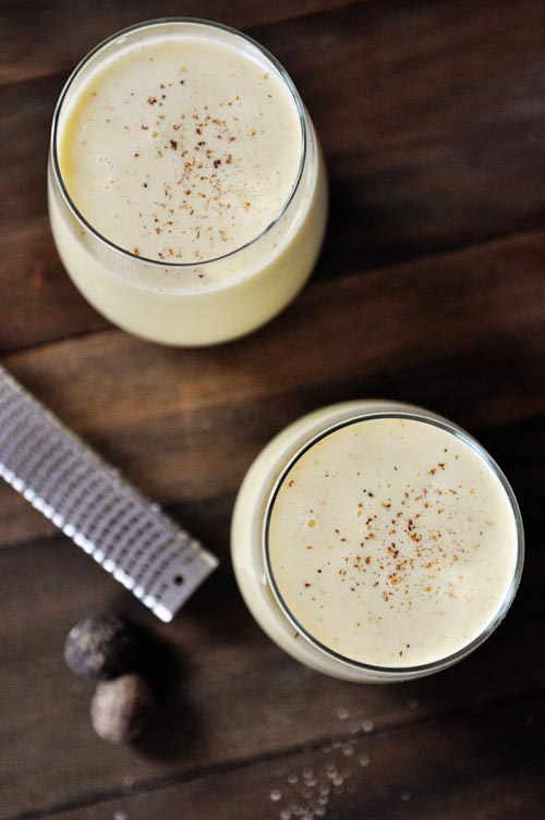 Homemade Eggnog - 30+ Festively Delicious Eggnog Recipes