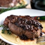 Filet Mignon with Mushroom Sauce - A Family Feast