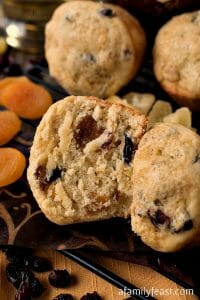 Panettone Muffins - A Family Feast