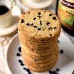 Crispy Zaletti Cookies