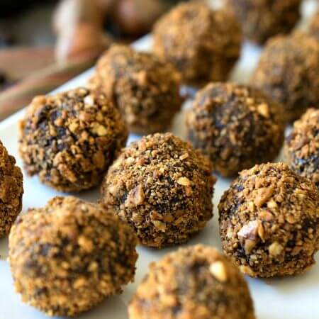 Hazelnut Truffles - A Family Feast