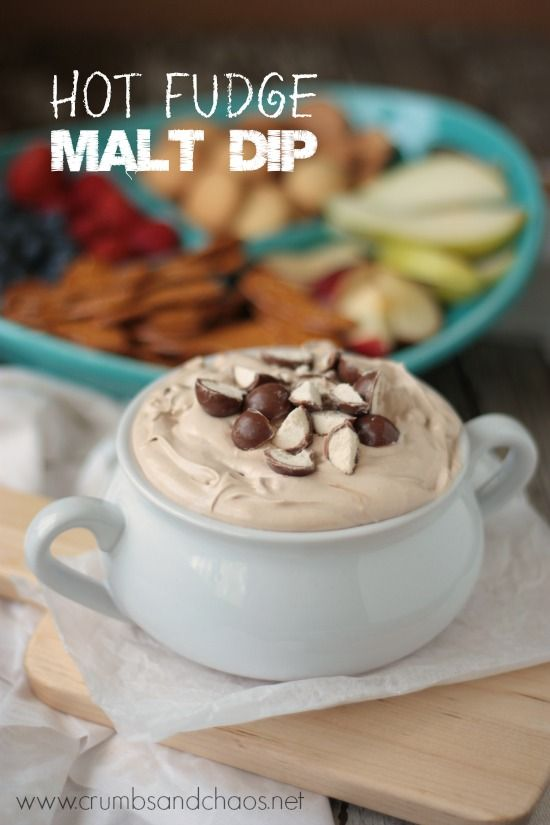 Hot Fudge Malt Dip - 30+ Recipes for Malted Milk Lovers