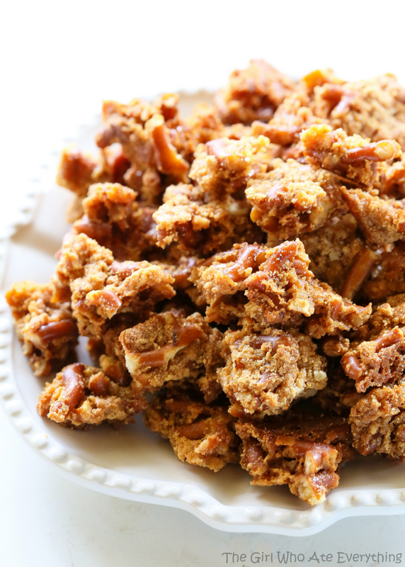 Malted Pretzel Crunch - 30+ Recipes for Malted Milk Lovers
