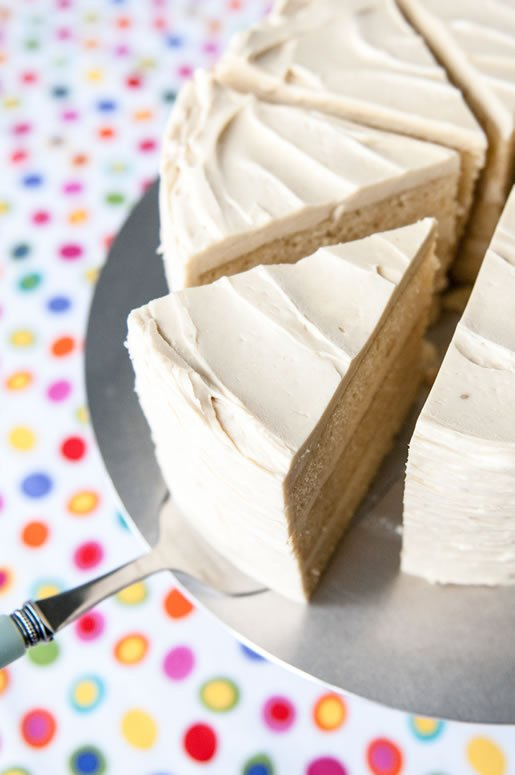 Vanilla Malted Milk Cake - - 30+ Recipes for Malted Milk Lovers