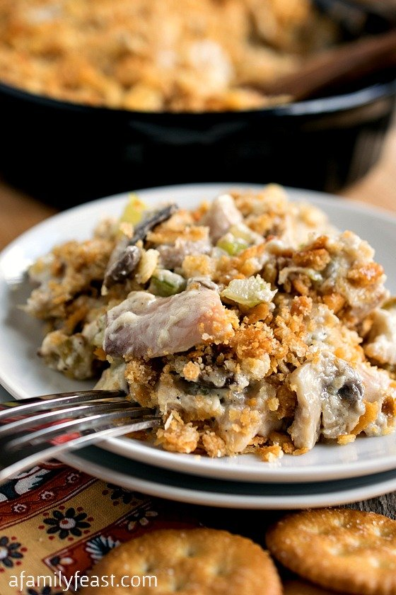Baked Chicken Salad - A Family Feast
