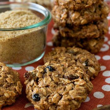 Healthy Golden Flax Breakfast Cookies - A Family Feast