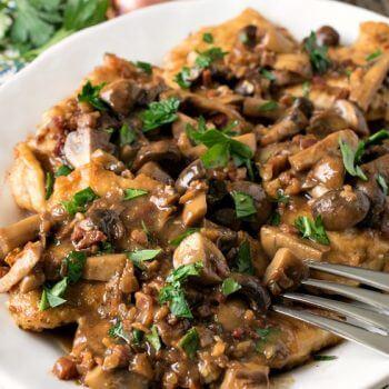 Chicken Marsala - A Family Feast