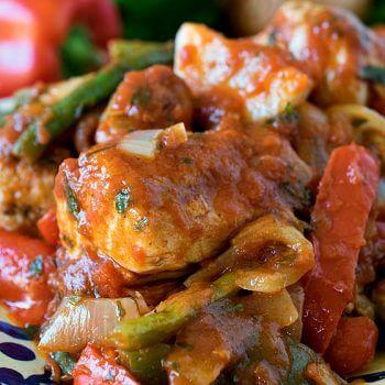 Chicken Cacciatore - A Family Feast