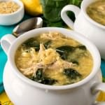 Greek Lemon Chicken Soup with Orzo - A Family Feast