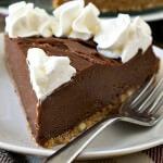 No Bake Nutella Almond Cheesecake
