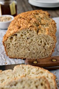 Steel Cut Oatmeal Honey Bread - A Family Feast