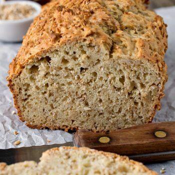 Steel Cut Oatmeal Honey Bread - A Family Feast