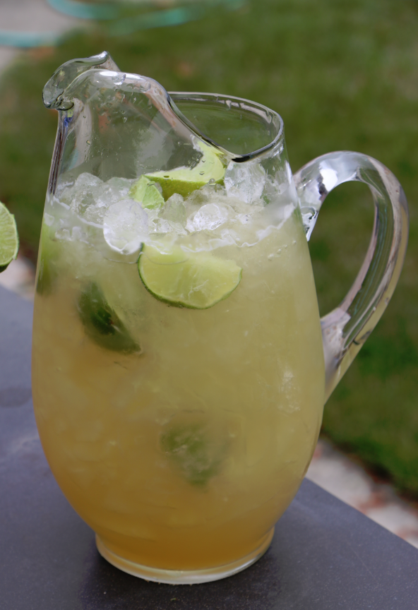 This beer margarita is one of over 30 refreshing margarita recipes in a collection on afamilyfeast.com