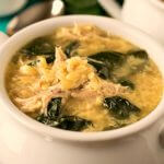 Greek Lemon Chicken Soup with Orzo