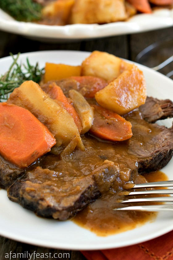 Yankee Pot Roast - A Family Feast