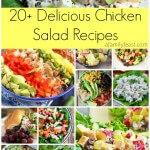 20+ Delicious Chicken Salad Recipes