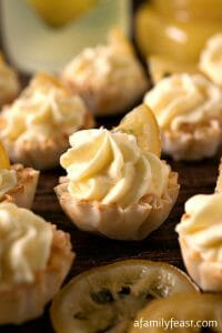 Lemon Mousse Cups - A Family Feast
