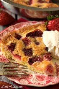 Strawberry Torte - A Family Feast