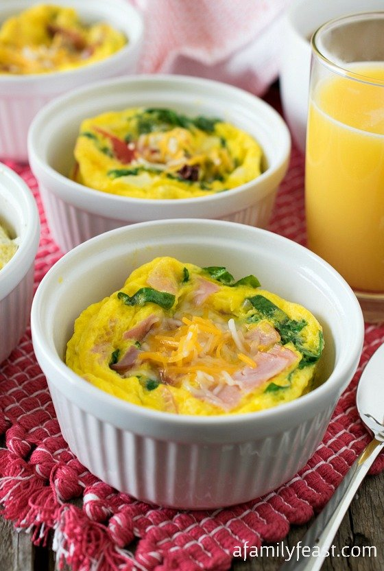 Easy Brunch Egg Cups - A Family Feast