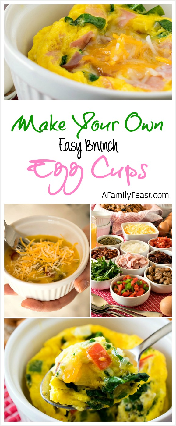 Easy Brunch Egg Cups - Make a delicious breakfast in just minutes!  Plus ideas for a Make-Your-Own Brunch Bar made with Target Grocery Essentials. #TargetCrowd #ad