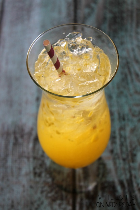 Mango Moscato Spritzer - One of over 30 beautiful brunch recipes for Mother's Day, or any special occasion! The collection includes main dishes, appetizers, drinks, and desserts. | A Family Feast