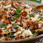 Pulled Chicken Chilaquiles