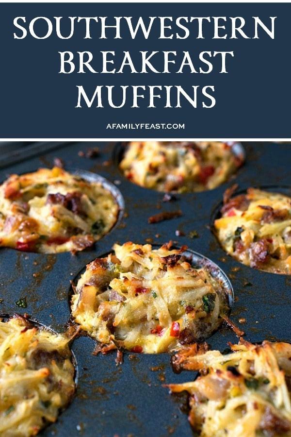 Southwestern Breakfast Muffins