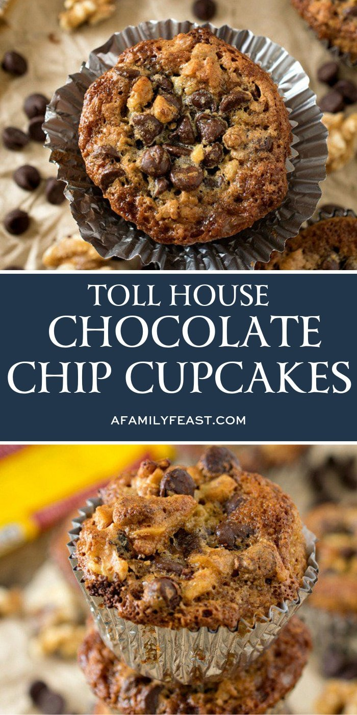 Toll House Chocolate Chip Cupcakes